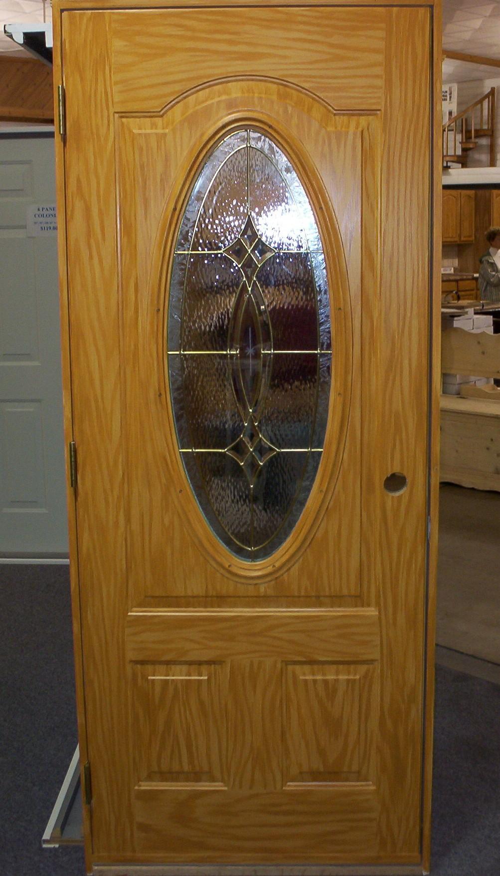 Cabinets Pine Steel Door